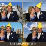 wedding reception photo booth lord haldon exeter
