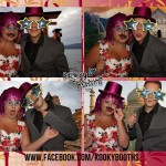 wedding reception photo booth reed hall exeter