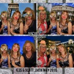 wedding reception party photo booth lord haldon