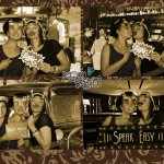 wedding party reception reed hall exeter photo booth