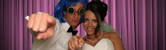 Laura & Adam – wedding photo booth Torquay