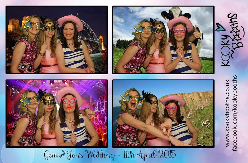 photo booth wedding reception westward ho north devon