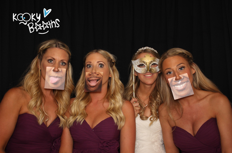 wedding photo booth headland hotel torquay