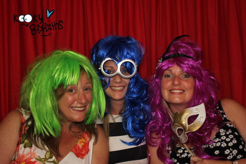 wedding photo booth lord haldon exeter