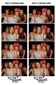 Photo booth Reed Hall Exeter