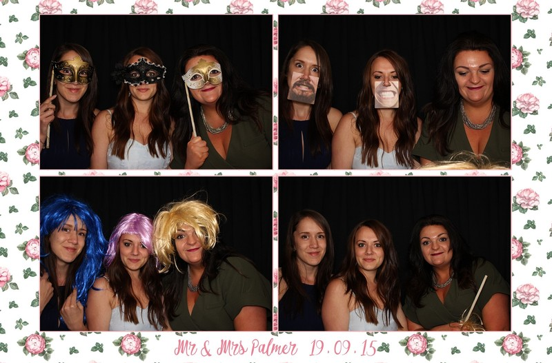 Wedding photobooth Langdon Court Plymouth